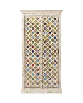 Cabinet Bazar 90Cm,Multicoloured