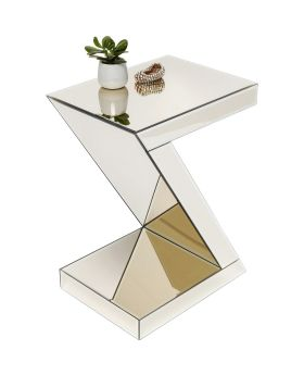 Side Table Luxury Z Champagne Glass