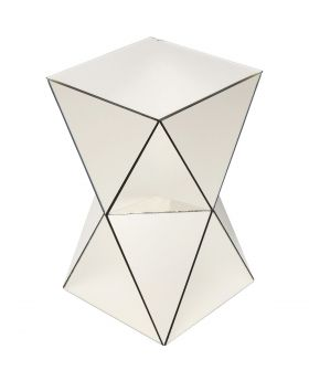 Sidetable Luxury Triangle Champagneglass