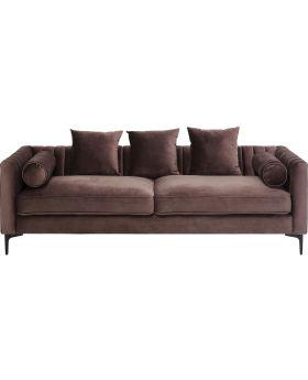 Sofa 3-Seater Variete Brown