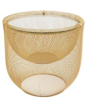 Coffee Table Grid Gold O/50Cm