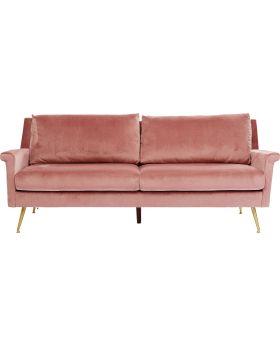 Sofa San Diego 3-Seater Rose 210Cm
