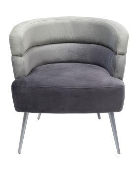 Sandwich Arm Chair Grey,Fab