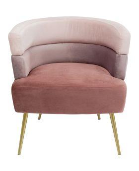 Sandwich Arm Chair Mauve,Fab