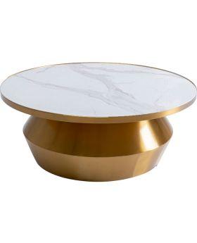 Coffee Table Wonder White DIA80