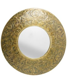 Mirror Victoria Gold Dia110Cm