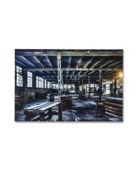 GALLERY GLASS FACTORY 100X150CMBLACK