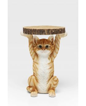 SIDE TABLE ANIMAL MS CAT 33CMMULTICOLOR