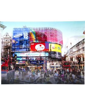 Picture Glass Piccadilly Circus 120x16