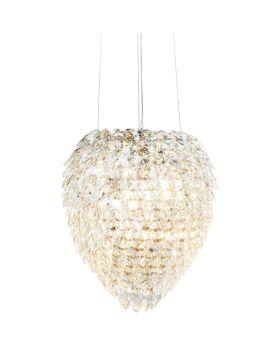 Pendant Lamp Crystal Comp Ø45cm