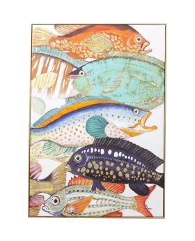Picture Touched Fish Meeting Two 100x7
