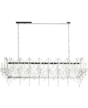 Pendant Lamp Chateau Crystal Chrome De