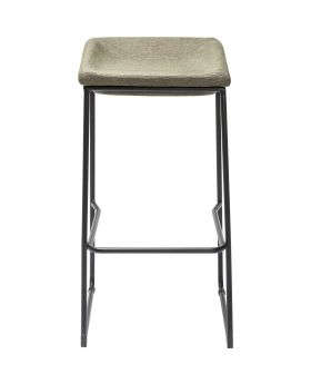 Bar Stool Shape Green