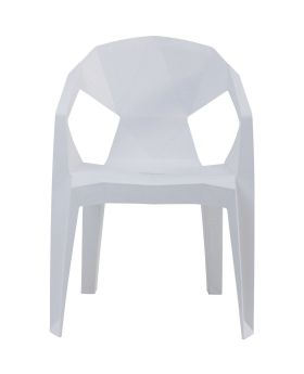 Chair Geometrial White