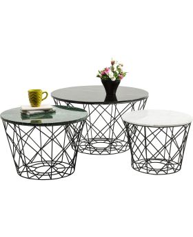 Coffee Table East Round (3/Set)