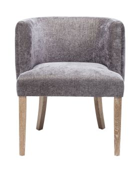 Chair with Armrest Theater Grey