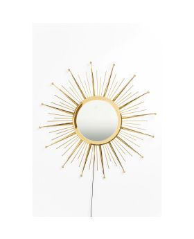 Mirror Sunburst LED Ø90cm