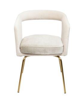 Cocktail Chair Rimini Powder-Grey