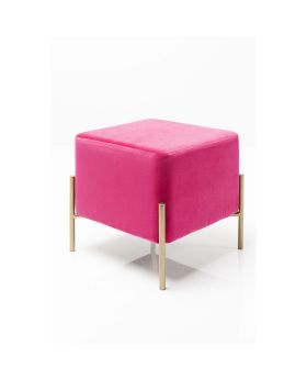 Stool Franzi Pink Gold 37x37cm