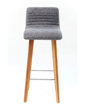 BAR STOOL LEVI GREY FAB